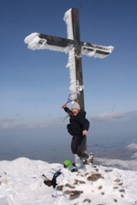 High altitude training on Carrauntohill