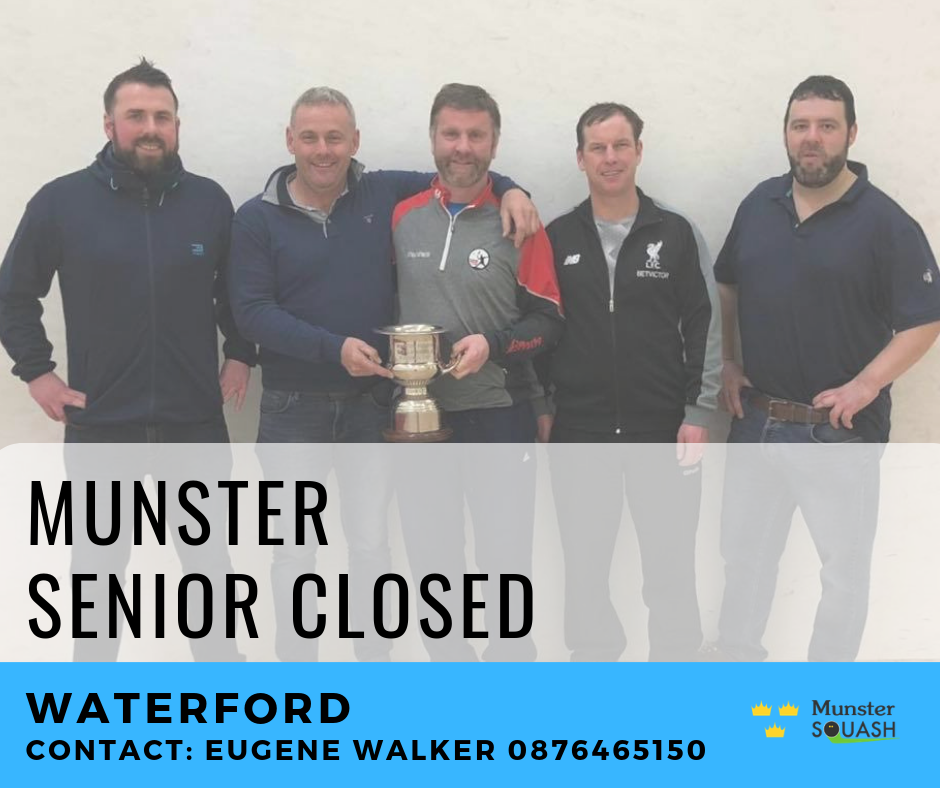 Munster Senior Closed